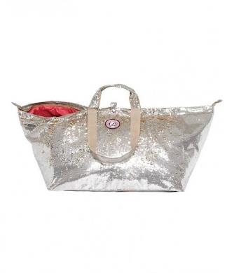 Grote Shopper Pailletten Goud/Zilver