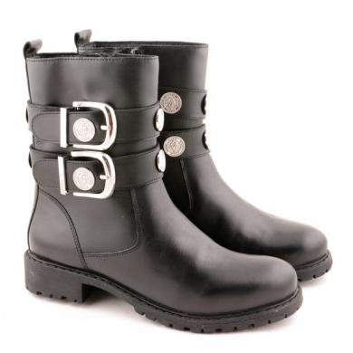 N9-866 Combat Buckle Boots S23