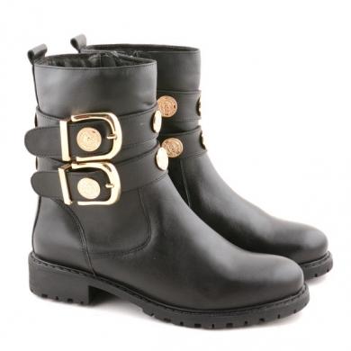 N9-865 Combat Buckle Boots S24