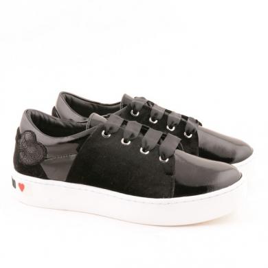 W Sneaker Nero Moschino