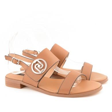 Erin Sandal Calf Leather Tan D75